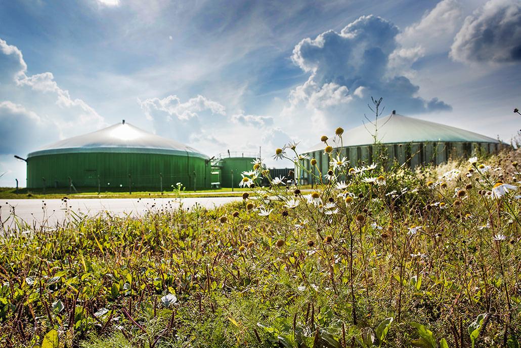 Biogasentschwefelung Biogasanlage Anklam