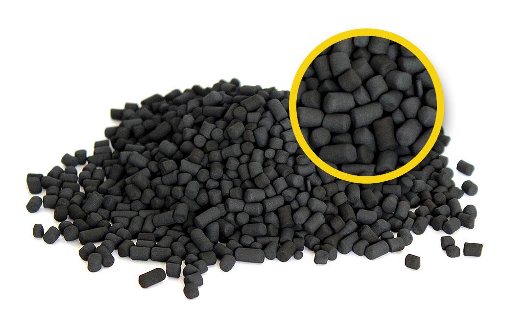 Karbonisate Kohlenstoffpellets