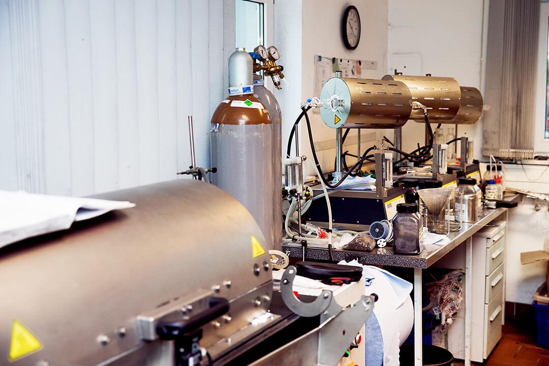 Laborausschnitt Forschung und Entwicklung