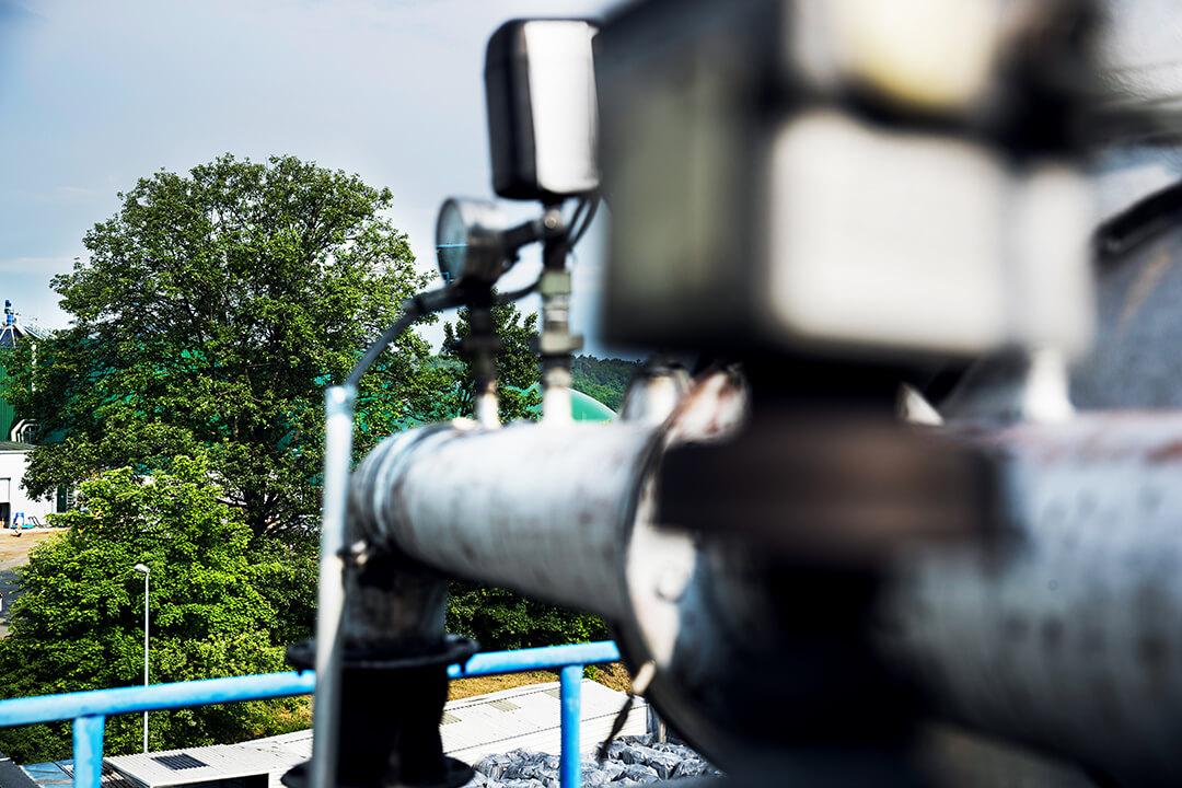 Produktion Biogasanlage