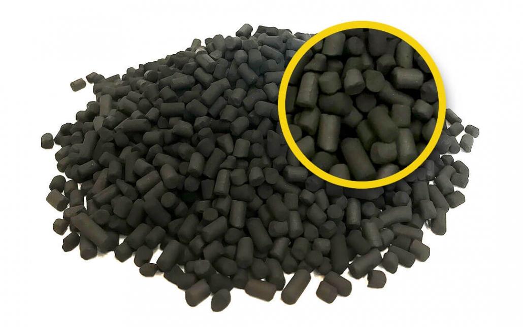 Steinkohle Aktivkohle Ammoniakentfernung